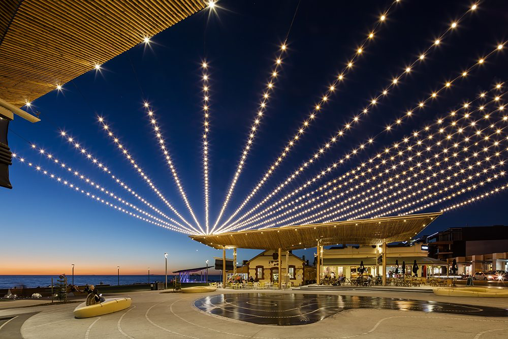 4 great examples of catenary lighting from around the world.